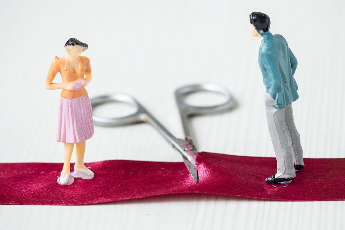 تقسیم اموال بعد از طلاق بین زوجین
